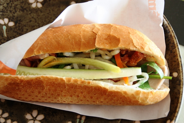 Vietnamese Food - Stuffed Baguette