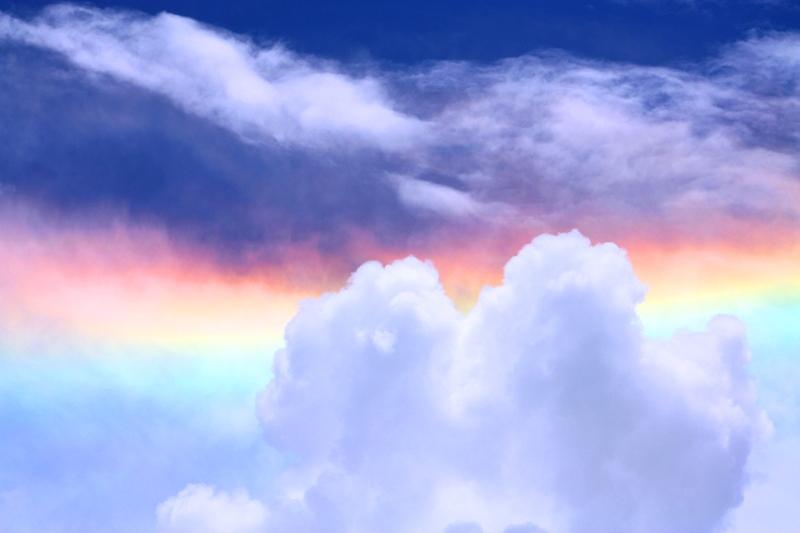 091211 Ngogogoro Crater Rainbow