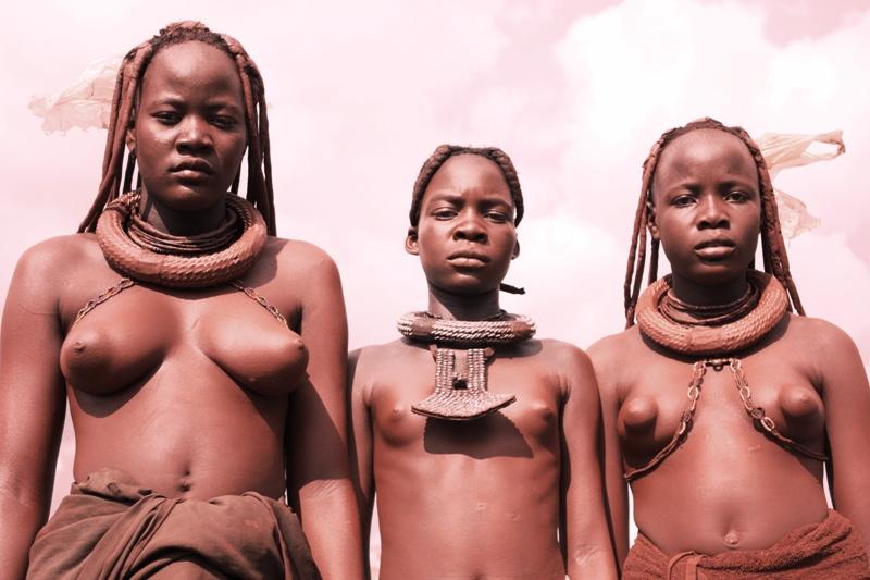 100118 Himba Girls