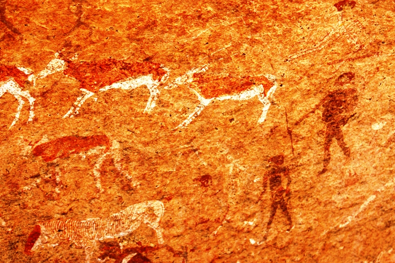 100119 Rock paintings