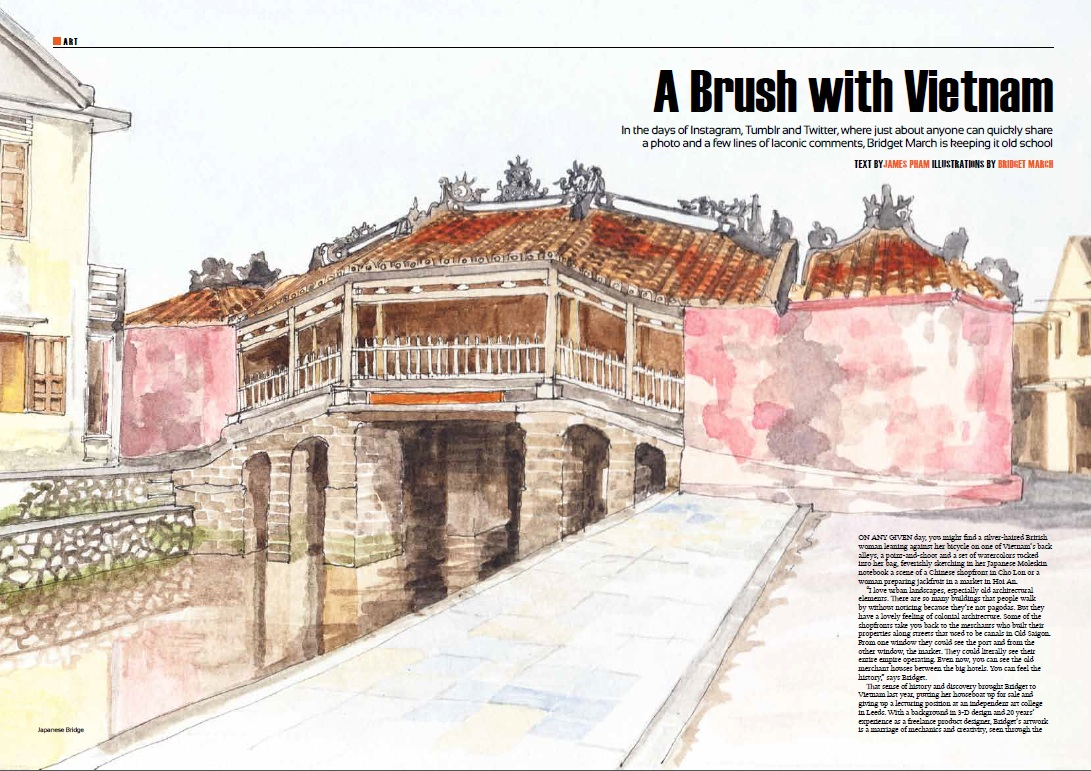 A Brush with Vietnam - Oi April 2013