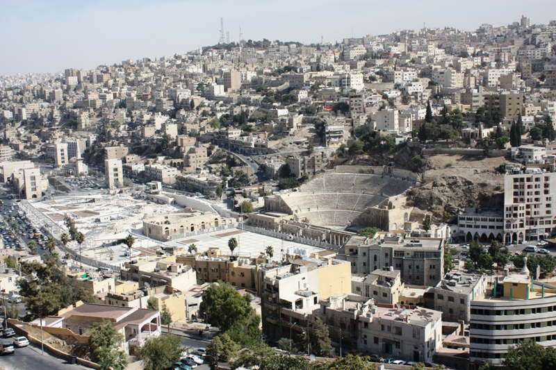 Amman with Roman Theater