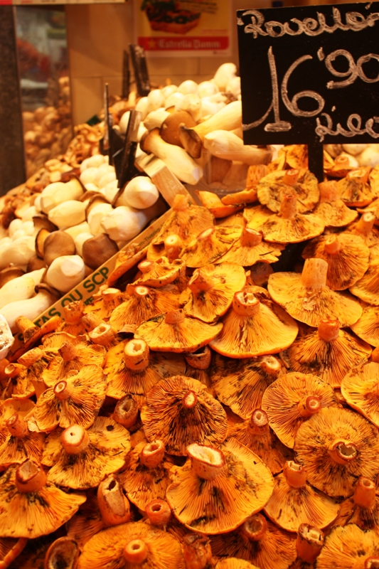 Barcelona - Mushrooms - Boquiera