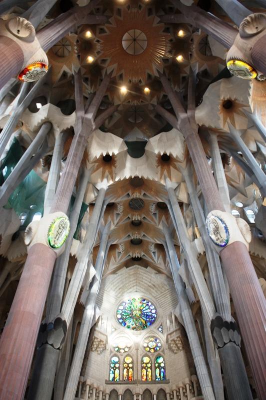 Barcelona - Sagrada Familia - Interior