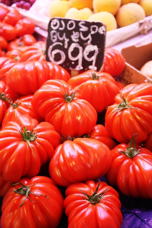 Barcelona - Tomatoes - Boquiera