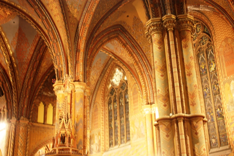Budapest - Matthias Church Interior