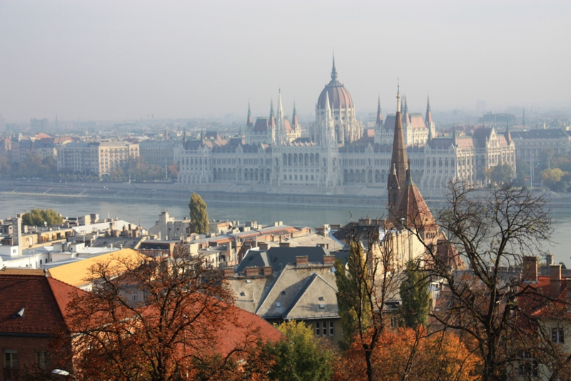 Budapest - View over the Danube