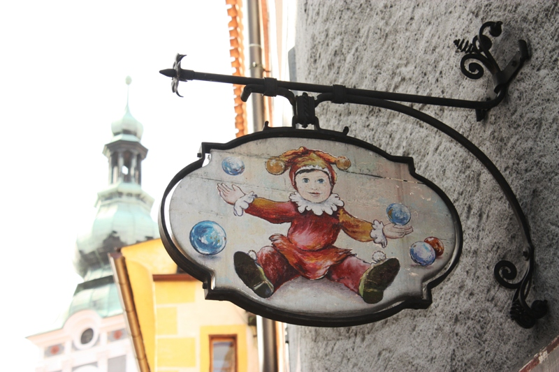 Cesky Krumlov - Sign