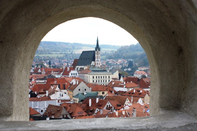 Cesky Krumlov - Town
