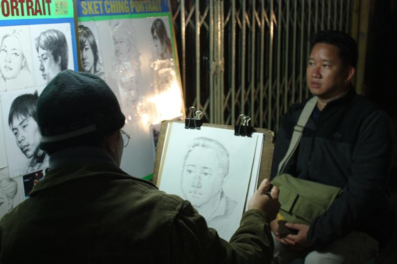Hanoi - Street Artist