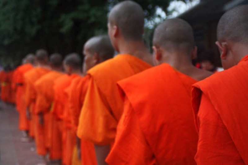 Laos - Luang Prabang - Monks 1