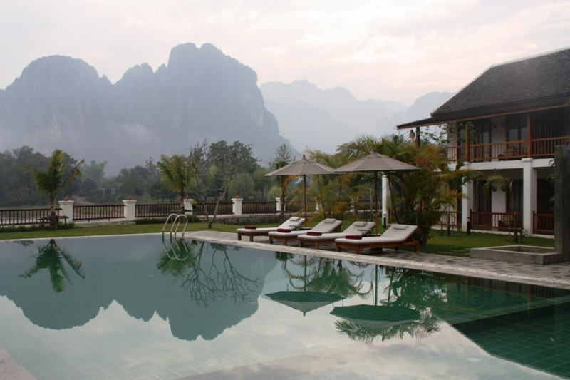 Laos - Vang Vieng - Riverside Boutique
