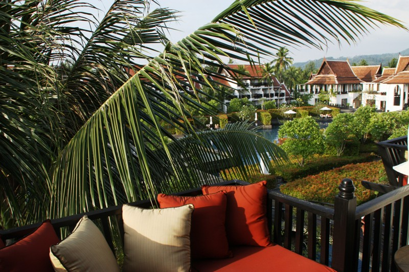 Marriott Khao Lak - Balcony Sitting Area