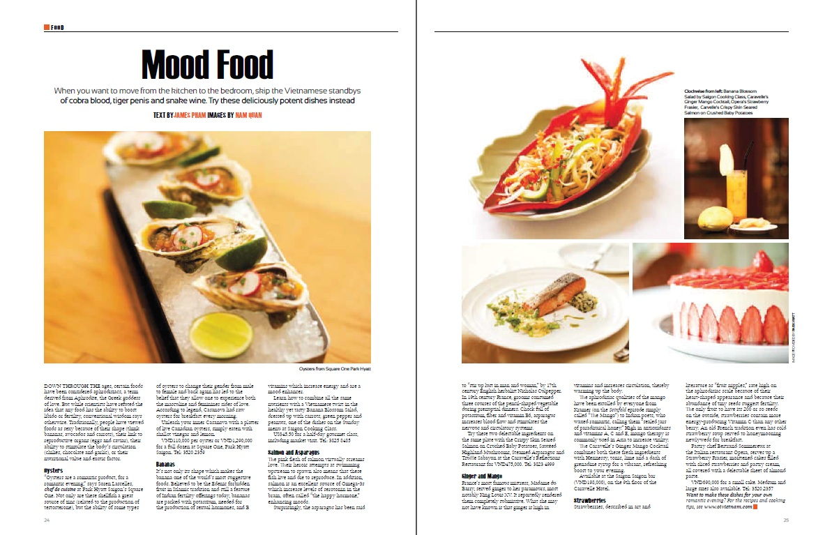 Mood Food - Aphrodisiacs - 2013-03 Oi Vietnam