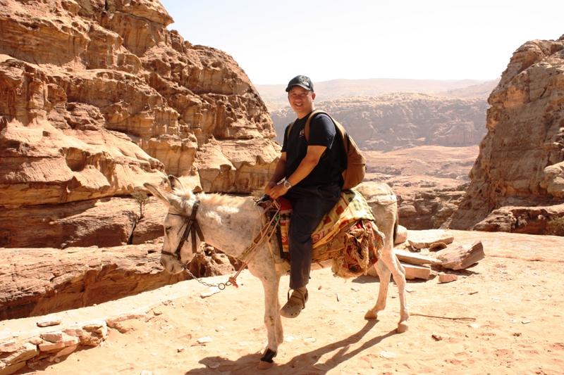 Petra - Donkey to Monastery