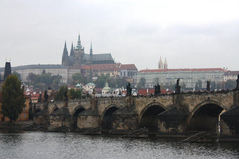 Prague - View of Charles Bridge