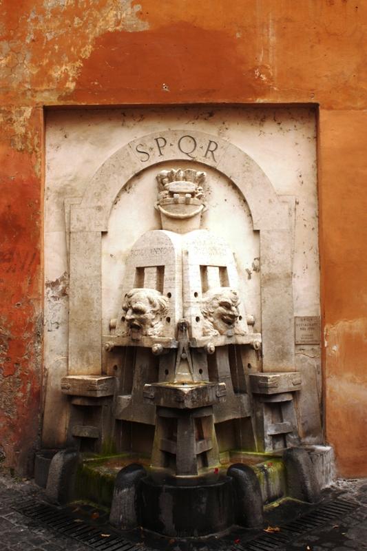 Rome - Drinking fountain