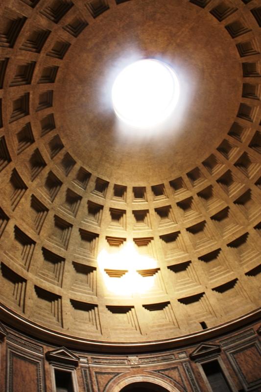 Rome - Pantheon - Oculus