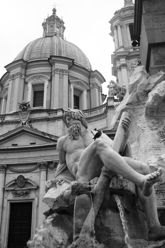 Rome - Piazza Navona Fountain