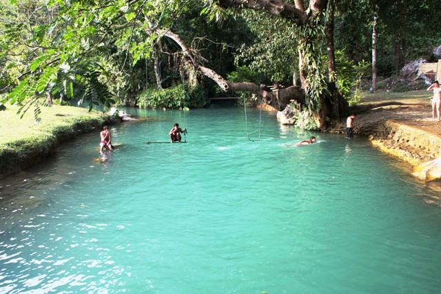 Vang Vieng - Blue Lagoon
