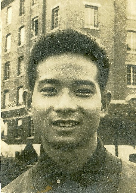 1956 (?) my brother Giap in Paris