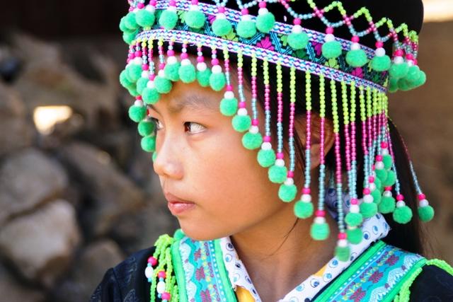 Luang Prabang 2 Hmong Girl