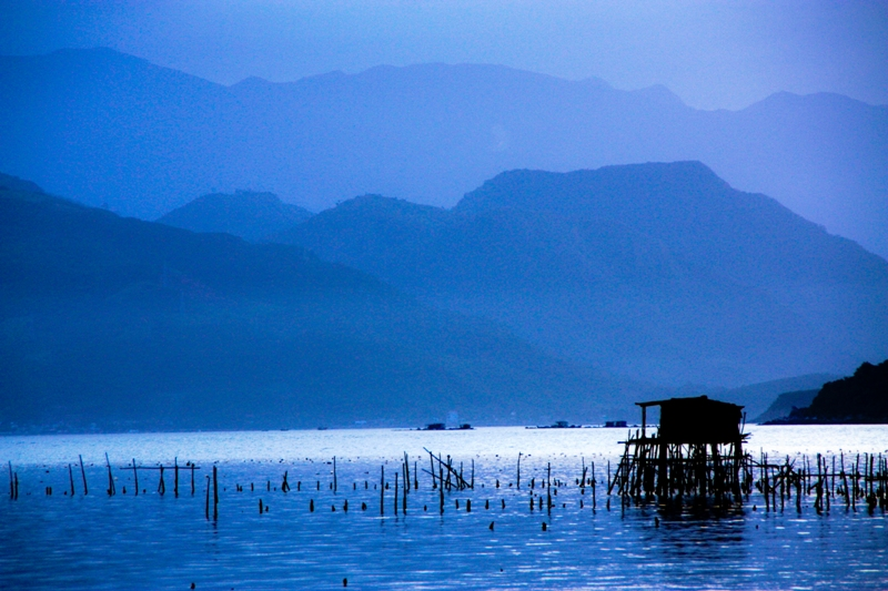 Capture the Color - Blue - Ninh Van Bay Vietnam