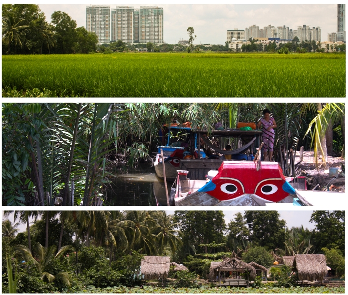 Thanh Da - Boats