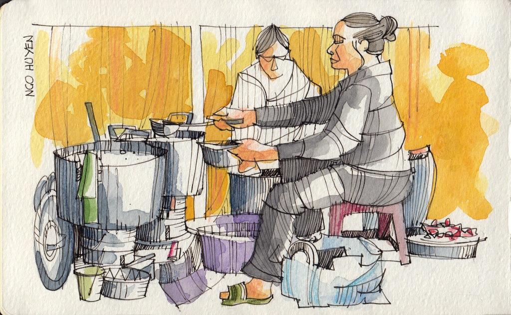 Jorge Royan - Urban Sketching - Pho