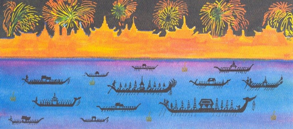 Loy Krathong - card