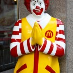 Ronald does the wai
