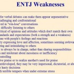 ENTJ Weaknesses
