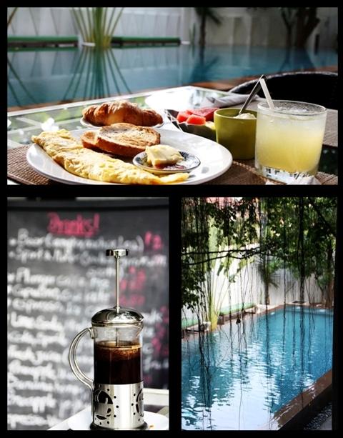 Phnom Penh Hotels - Circa 51 Pool Area