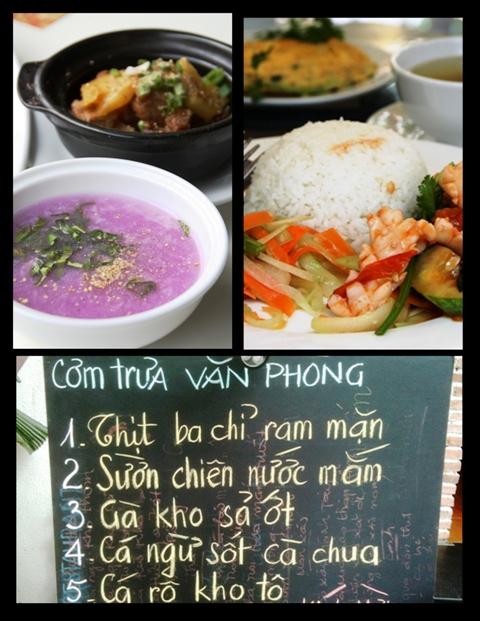 Vietnamese Food - Lunch Set Menus