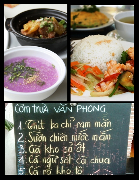 Vietnamese Food - Lunch Set Menus