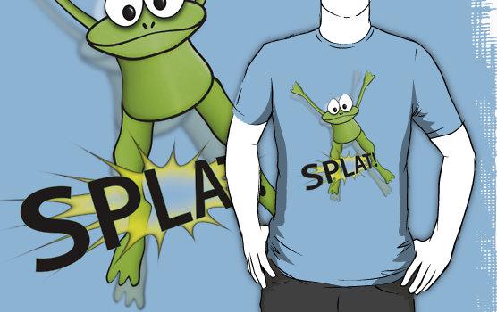 Frog splat t-shirt