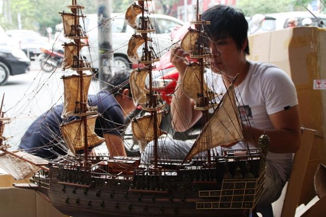 Medium sized model boat