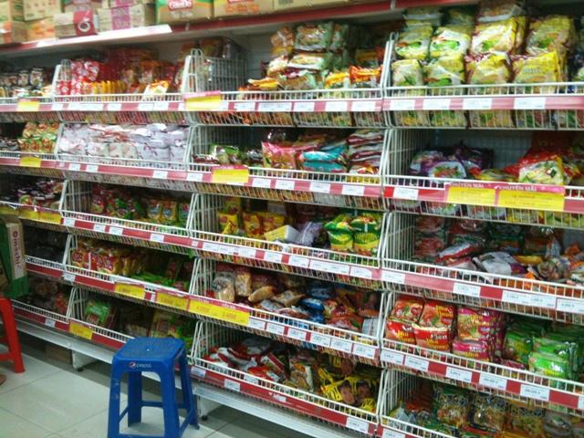 Trip to the Supermarket - Instant noodles
