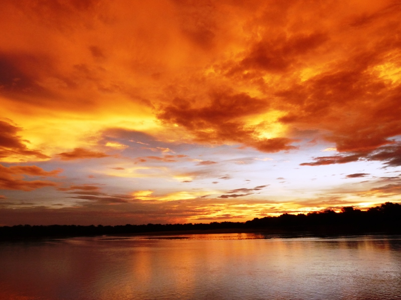 100105 Zambezi Sunset