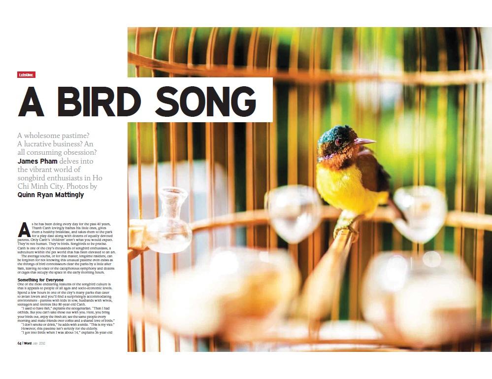 A Bird Song - 2012-07 Word HCMC