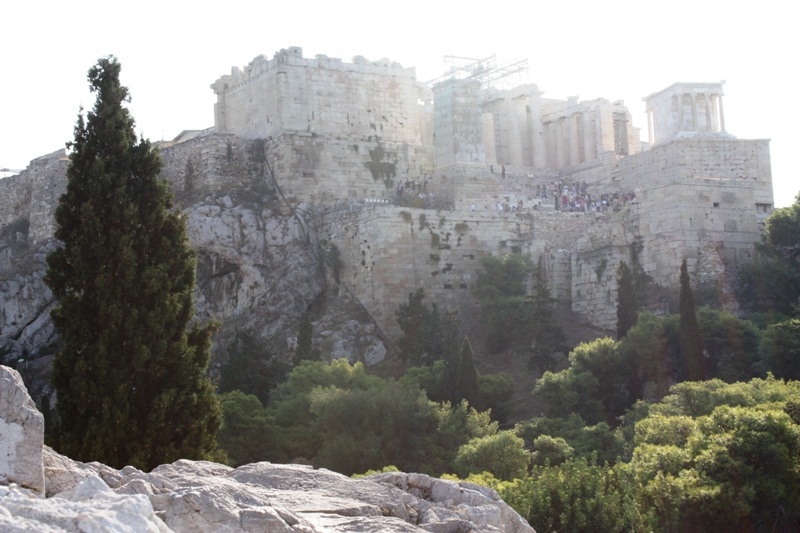Acropolis view from Areopagus