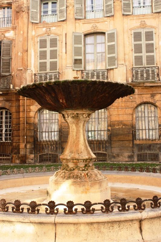Aix en Provence - Fountain