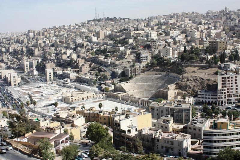 Amman with Roman Theater
