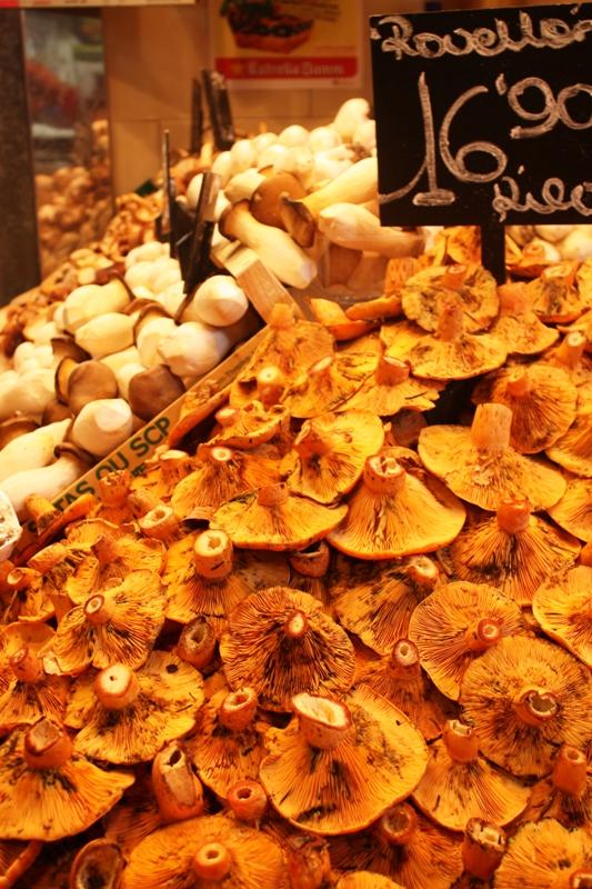 Barcelona - Mushrooms - Boquiera