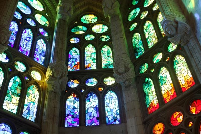 Barcelona - Sagrada Familia - Windows