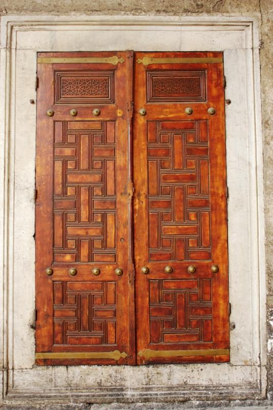 Blue Mosque - Door