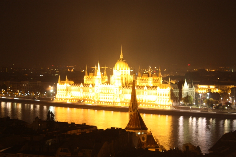Budapest - All lit up