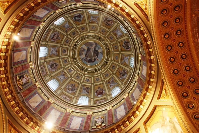 Budapest - St Stephens Basilica - Dome