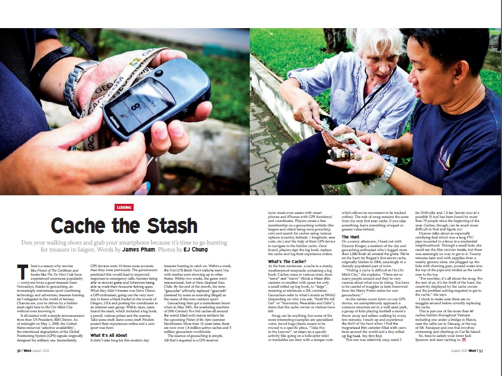 Cache the Stash - Geocaching - 2012-08 Word HCMC