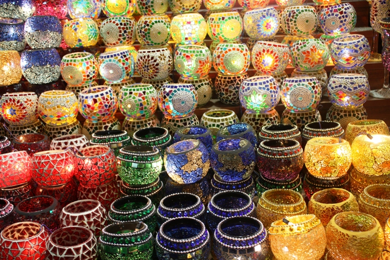 Egyptian Spice Bazaar lamps